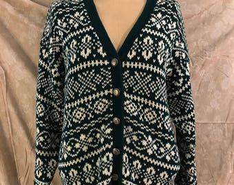 Vintage Gap Green Sweater