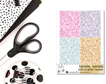 Twinkle, Twinkle - ADD-ON Glitter - for your ECLP