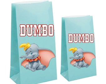 Dumbo Party Favor gift Bags~ Dumbo Inspired Decorations & Decor