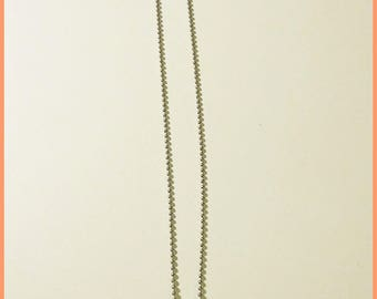 Tassel and silver Horn necklace