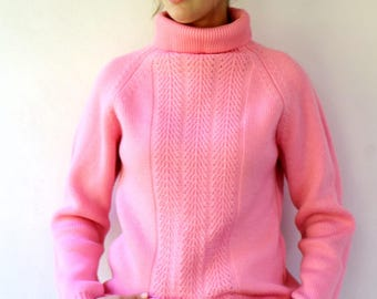 Pink sweater | Etsy