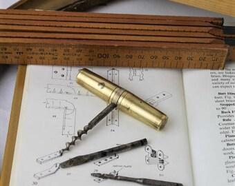 Miniature Tools/Brass Tools/Millitary Tool Capsule/Millitaria/Brass Compendium(Ref 1957K)