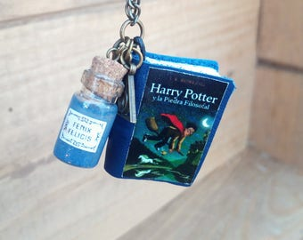 Anniversary Harry - Harry potter - Harry potter gift - necklace Harry - Harry Potter fans - Hogwarts gift - magician necklace--gift Harry