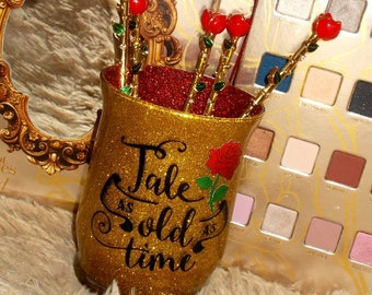 Tale As Old As Time || Makeup Brush Holder