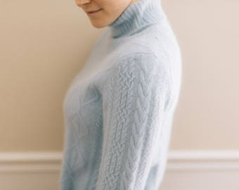 Vintage Cashmere Turtleneck Sweater