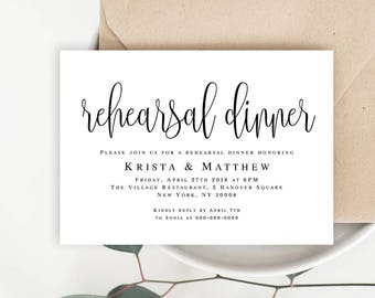 Rehearsal dinner invitation etsy rehearsal dinner invitation template rehearsal invitation template download pre wedding party invitation instant download dinner ideas pronofoot35fo Choice Image