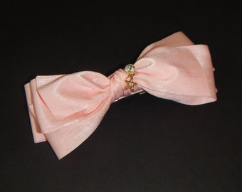 Over Size Hair Bow, Pink Hair Bow, Girls Hair Bow, Hair Bow, Pink Bow, Hair Accessories