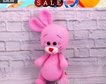 35% SALE Rabbit bunny crochet bunny plush bunny stuffed bunny stuffed bunny doll bunny toy amigurumi bunny rabbit amigurumi bunny crochet