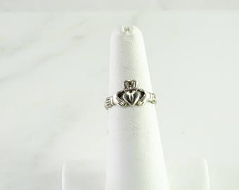 Sterling Claddagh Ring Size 5.75