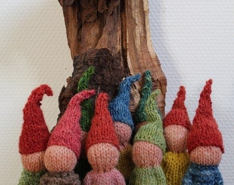 Knitted Goblins, knitted gnomes