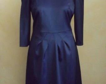 Blue/ black dress