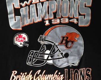 1994 BC Lions Wester Champions Tee