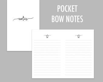 Pocket TN Bow Notes