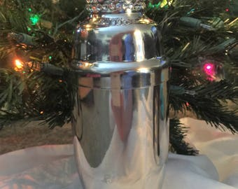 Princess Pink Swarovski Crystal Encrusted Cocktail Martini Shaker