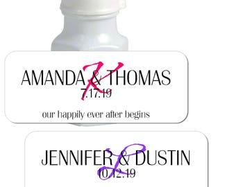 bubble bottle label template - custom bubbles etsy studio