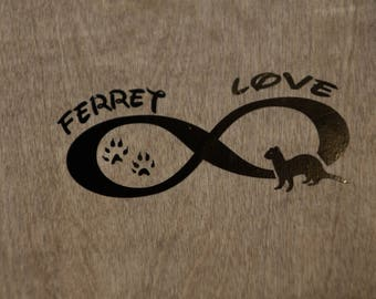 Infinity Ferret Decal