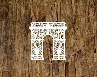 Arc de Triomphe Decal