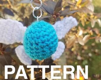 Crochet PATTERN: Navi Keychain, Legend of Zelda