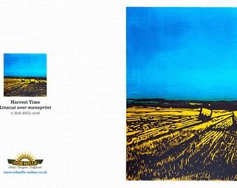 Greetings Card - Harvest Time
