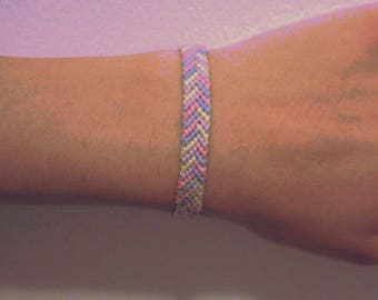 Pastel Friendship Bracelet