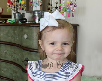 Twisted Boutique Hair Bow, Girl's Hair Bow, Boutique Bow, Birthday Bow, School Hair Bow, Preschool Hair Bow, Dance Hair Bow, Church Hair Bow
