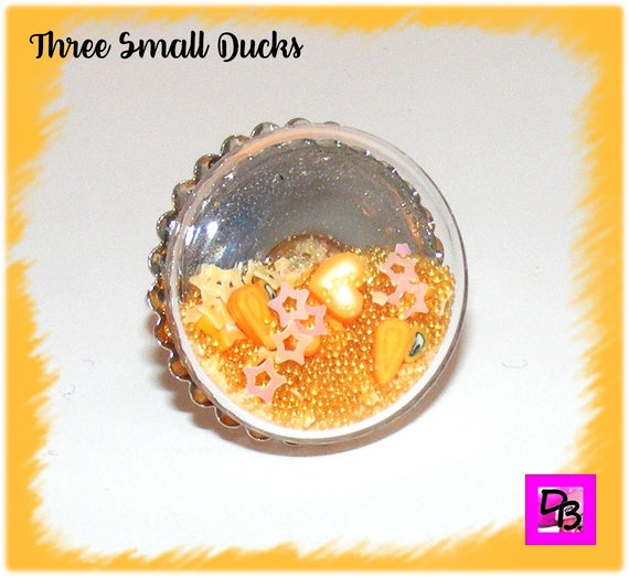 Bague globe [Three Small Ducks]