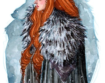Lady Sansa / PRINT / Game of Thrones, Sansa Stark