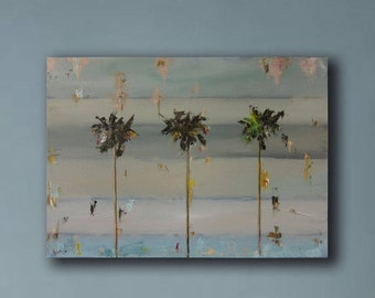 Oil Painting-california oil painting - Contemporary Home Decor - Americana-Wall Art.