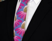 Neck Ties with Flowers – Mens Floral Tie.