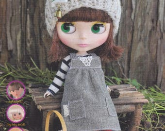 Blythe Clothes Pattern Japanese Doll Craft e-Book Instant Download PDF Fashion Doll Style Magazine Blythe Dress