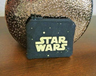 Star Wars Logo Coin Purse