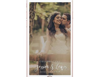 Snapchat Wedding Geofilter