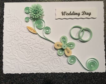 Wedding Day Quilling Cards