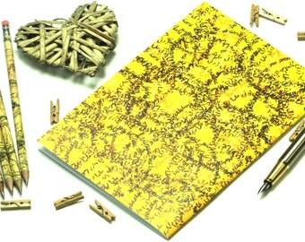 A5 lined paper notebook, Rabbi zidni ilma, back to school, graduation gift, teacher's gift, study gift, stationery, Arabic calligraphy,