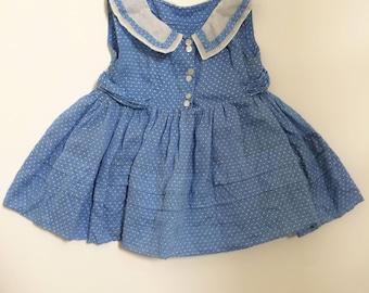 Vintage Baby Girl's Summer Dress