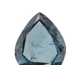 0.062 Ct Natural Loose Diamond Cut Pear Blue Color 3.50X3.00X0.90 MM N3430
