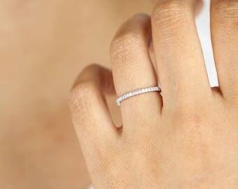 Diamond Band, Diamond Ring, Half Eternity Ring, Half Eternity Ring, Wedding Band, Diamond Wedding Band, Wedding Ring, Diamond Wedding Ring