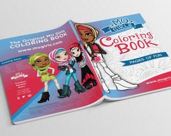 MU Girls Coloring Book Volume 1