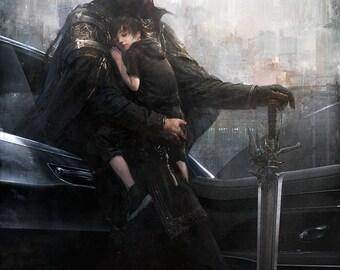 Final Fantasy XV Regis and Noctis Poster