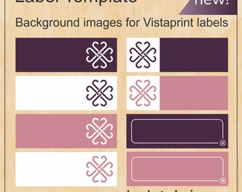 Address & catalogue Label templates for Jamberry