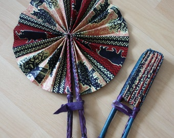 MY TRIBE hand fan 'Nature'