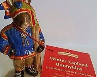 Royal Doulton Bunnykins - DB297 - Winter Lapland