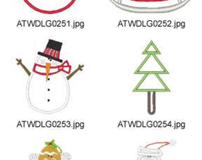 Holly-Days-Applique ( 10 Machine Embroidery Designs from ATW ). XYZ17K