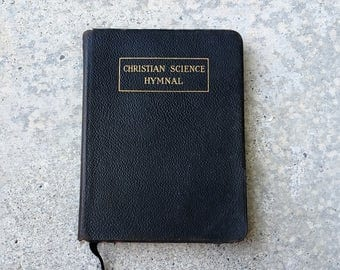 Christian Science Hymnal, 1909, Leather Bound, Mary Baker Eddy Hymn Book