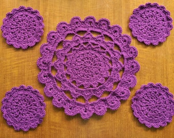 Mandala Place Mat Set