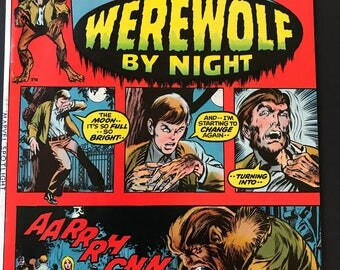 Marvel Spotlight on...Werewolf by Night #2 ~ Price Reduced!!