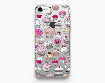 iPhone 7 Case Muffin iPhone 6 Case iPhone 7 Plus Case iPhone 6 Plus Case iPhone 6s Case iPhone 5s Case iPhone 6s Plus Case Cupcake Food