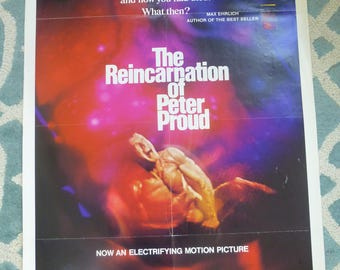 The Reincarnation Of Peter Proud - 1975 - Movie Poster
