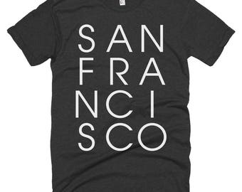 San Francisco Letters T-shirt | San Francisco California
