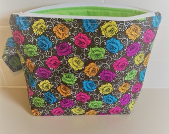 Roses Project Bag
